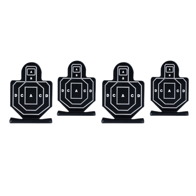 4Pcs Outdoor Hunting Practice Nock Down Target Durable Archery Kit Useful Targets Fireing Practice Board
