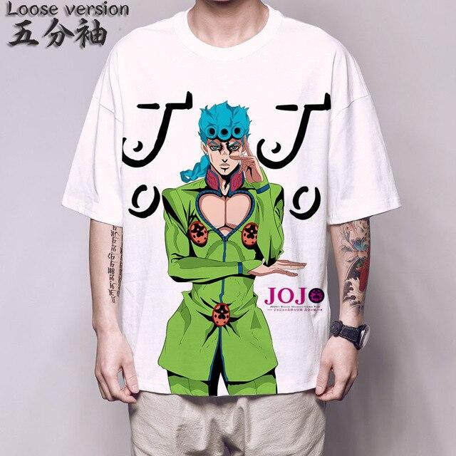 jojo bizarre adventure T Shirt Kono Dio da Dio Brando hinjaku funny t shirt jojo bizarre adventure Kujo Jotaro cosplay tee shirt 3