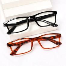 1 adet okuma gözlüğü Unisex Ultralight PC çerçeve taşınabilir presbiyopik gözlük yüksek çözünürlüklü vizyon bakım + 1.0 ~ + 4.0