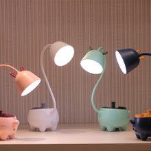 New Smart Touch USB Charging Pet LED Table Lamp 3 Modes Lighting Adjustable Brightness Dimmable Desk Lamp for Children's Gift