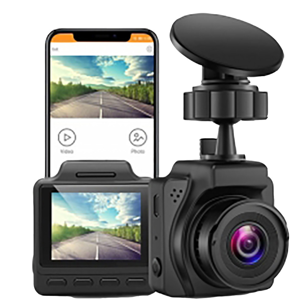 Blueskysea b2k 1.5 wifi wifi carro wifi 2k traço cam dvr gravador com modo de estacionamento super capacitor wdr lapso de tempo detecção de movimento