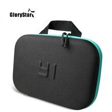 GloryStar Portable caméra sac de rangement étui pour Mi Yi Action caméra étui xiaomi yi Xiaoyi 2 4k pour gopro osmo sport accessoires