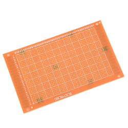 5PCS  9x15 9*15cm Single Side Prototype PCB Universal Board Experimental Bakelite Copper Plate Circuirt Board yellow