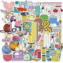 Autocollants Graffiti de matériau de Machine à coudre de moto, étiquette étanche, dessin animé, pour bagages, casque, fournitures artisanales, nouvelle collection 2020