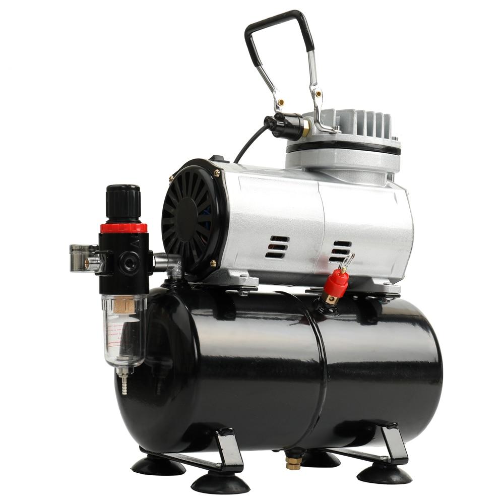 EU High efficiency Oil less Quiet Air Compressor High pressure Pump Woodwork Air Spray Paint Compressor Blast Pump Set