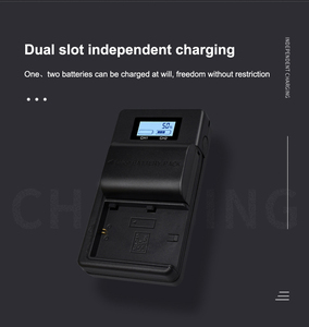 Image 5 - Palo LCD Dual USB Charger LP E6 LP E6 LPE6 Camera Battery Charger for Canon 5D Mark II III 7D 60D EOS 6D 70D 80D camera