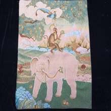 """35 """"вышивка танка Тибетский буддизм парча с шелковой вышивкой"""