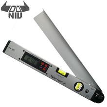 DANIU 400mm 16 zoll Elektronische Winkelmesser 0-225 Grad Digitale Winkel Ebene Meter Gauge Elektronische Winkelmesser Mit LCD display