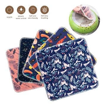 5 szt Bez ręcznika papierowego 25x25cm ściereczka bawełniana może być ponownie użyta papier do czyszczenia ręczników do czyszczenia ręczników kuchennych akcesoria do czyszczenia ręczników tanie i dobre opinie CN (pochodzenie) Ekologiczne NAKŁADKA DO MYCIA PODŁOGI KİTCHEN Cloths dishcloth other dropshipping Cleaning Cloths and reusable