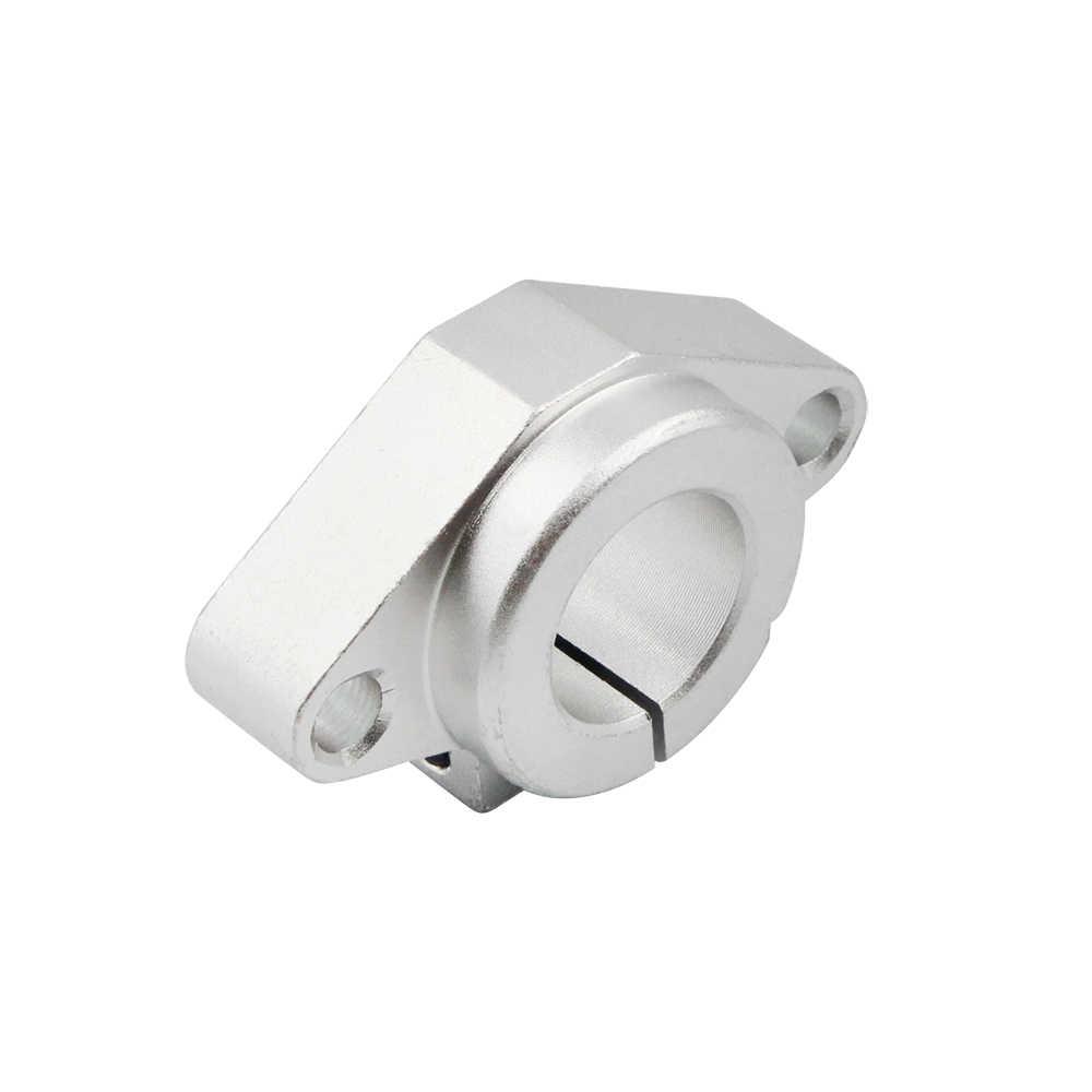 Venda quente 2pc shf8 shf10 shf12 shf16 8mm suporte de eixo ferroviário linear xyz mesa cnc roteador impressora 3d parte