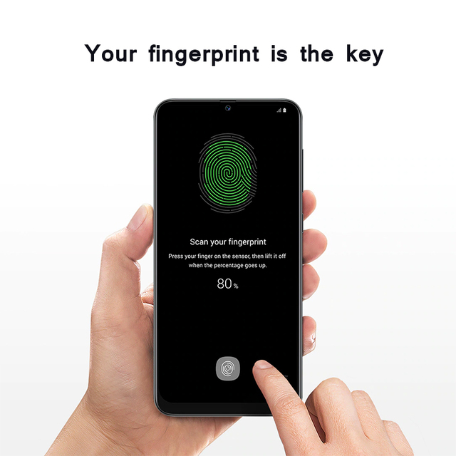 Samsung Galaxy A50s Mobile Phones NFC 6GB 128GB 6.4'' FHD+ Samsung Exynos Octa Core 48MP AI Triple Camera 4000mAh Cellphones 4