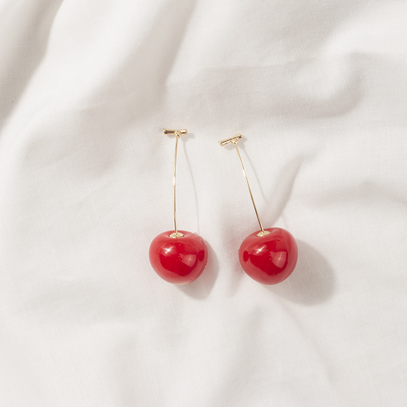 Cherry Stud Earrings 2