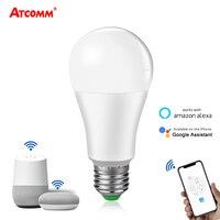 Lampada WiFi 15W ampolla LED E27 lampadina intelligente B22 intelligente ampolleta wifi lampada Alexa Google aiutent Echo App Control