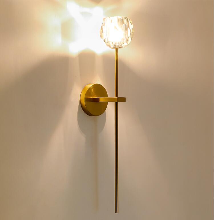 Long rod wall light