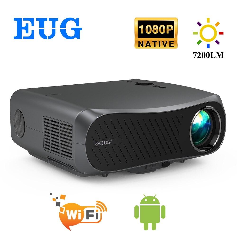 900DAB Full HD 1920x1080P проектор 7200 люмен кинотеатр светодиодный LCD проектор Android WiFi Bluetooth HD в домашнем кинотеатре 3D проектор