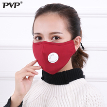 1Pcs Anti Pollution Mask Dust Respirator Washable Reusable Masks Cotton Unisex Mouth Muffle for Allergy/Asthma/Travel/ Cycling