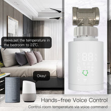 Thermostatic Radiator Smart-Support Valve Voice-Control Alexa Intelligent-Accessories