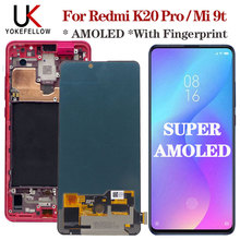 """Amoled original 6.39 """"para xiaomi mi 9t display lcd de toque digitador da tela assembléia lcd substituir redmi k20 pro lcd mi 9t pro lcd"""