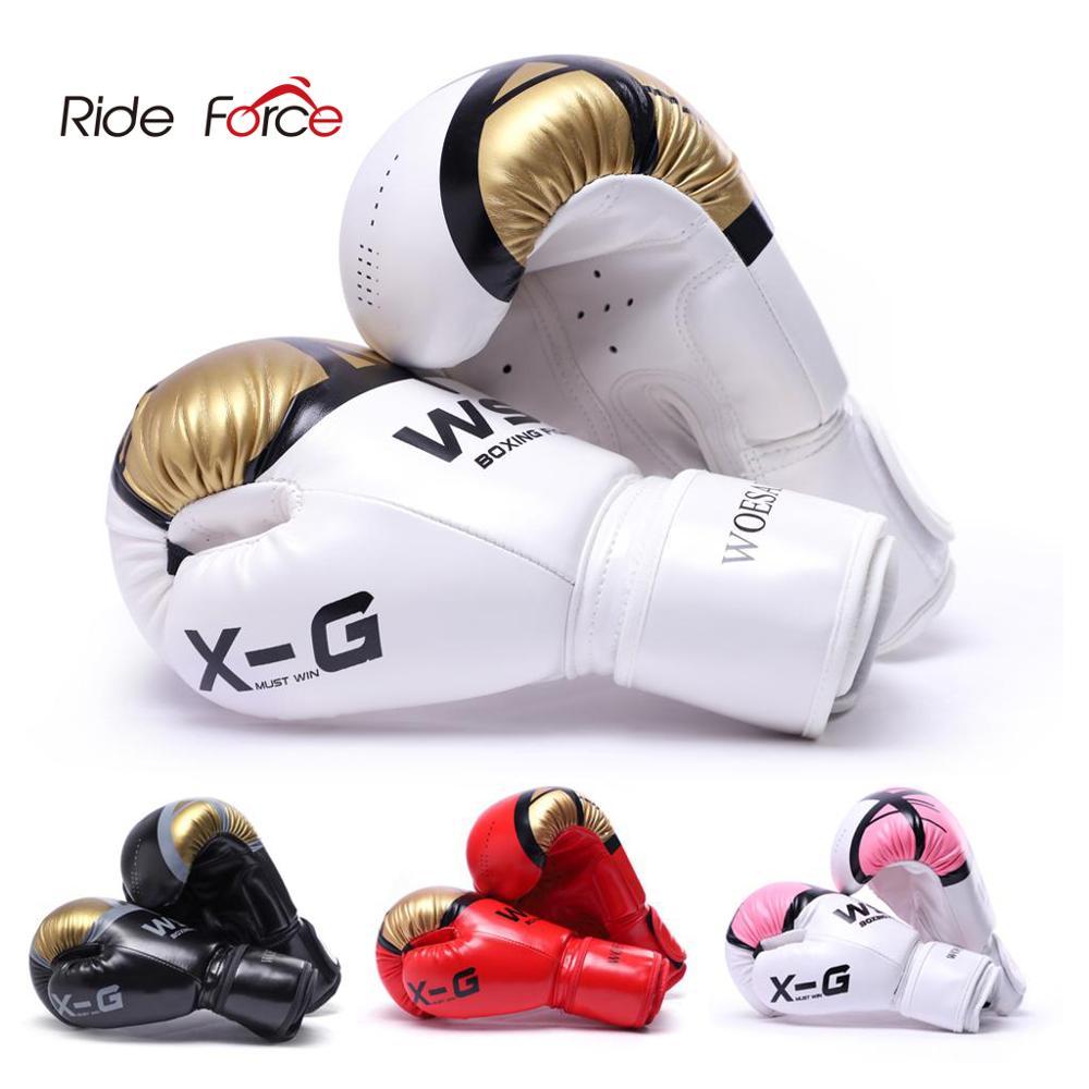 Kick Boxing Gloves for Men Women PU Karate Muay Thai Guantes De Boxeo Free Fight MMA Sanda Training Adults Kids Equipment