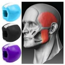 Toner facial exercitador cara fitness bola portátil mandíbula exercitador pescoço rosto tonificação muscular facial trainer face-lift cor como mostrado