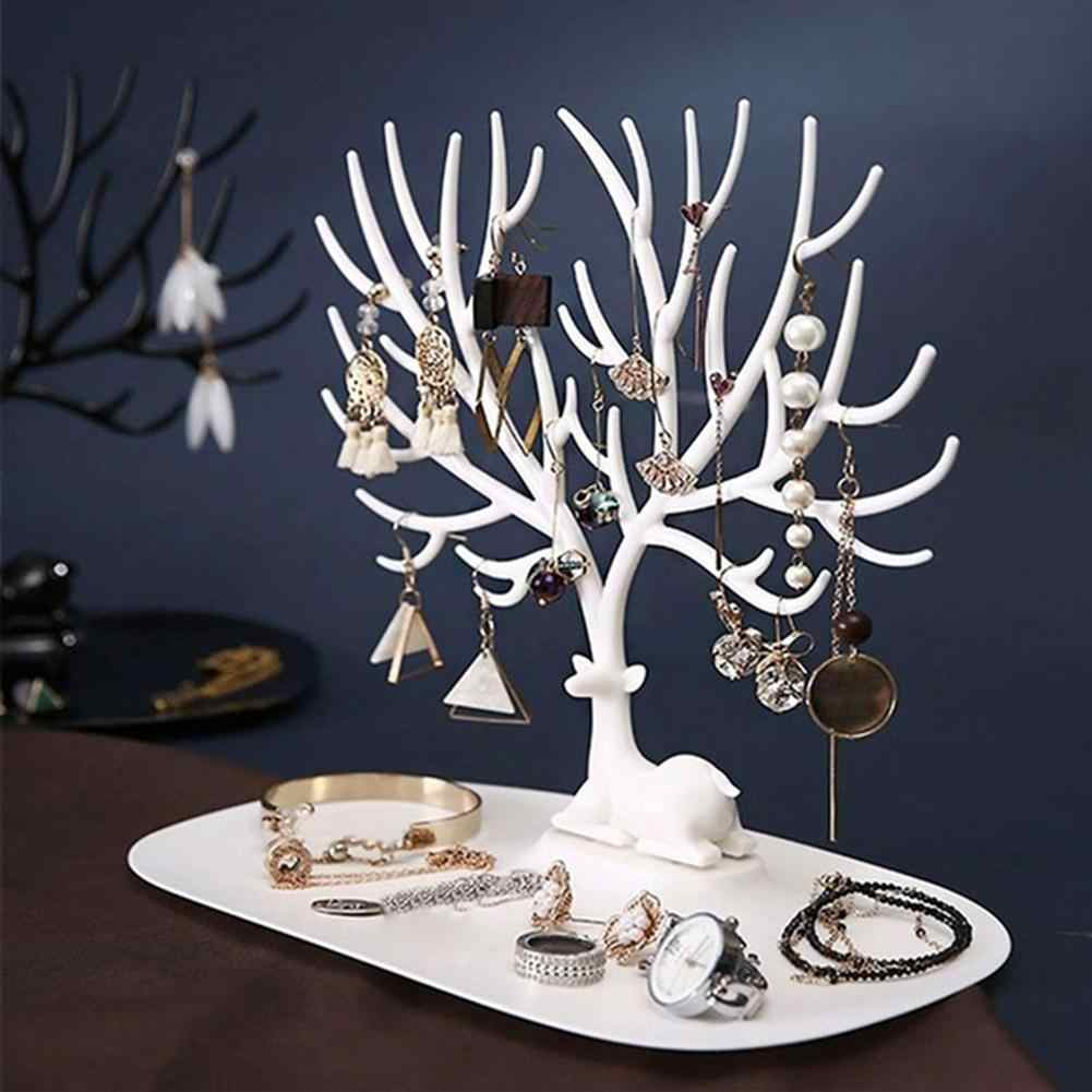 Antler Tree Jewelry Hanging Organizer Rack Earrings Necklace Ring Display Stand Jewelry Hanging Organizer Rack Earrings Necklace