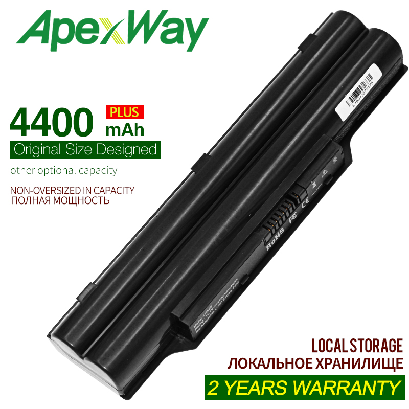 4400MAH Laptop Battery BP250 FPCBP250 FPCBP250AP For Fujitsu LifeBook AH531 A531 A530 AH530 LH52/C LH520 LH530 PH521 CP477891