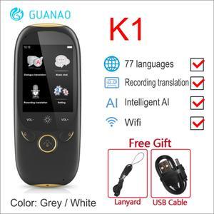 Image 4 - Голосовой переводчик Boeleo K1 Pro, 2,4 дюйма, Wi Fi, 500мп