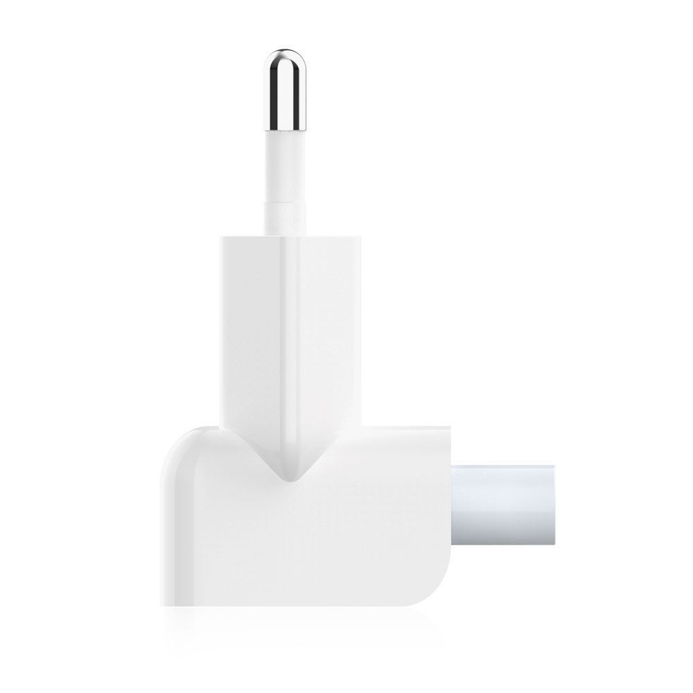 Euro Plug AC Duck Head for iPad Air Pro MacBook charger Suit for MagSafe 2 Wall Charge Power <font><b>Adapter</b></font> EU European Pin Plug image