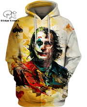 PLstar Cosmos DC comics batman Drama Mask joker 3d hoodies/shirt/Sweatshirt Winter autumn funny Harajuku streetwear
