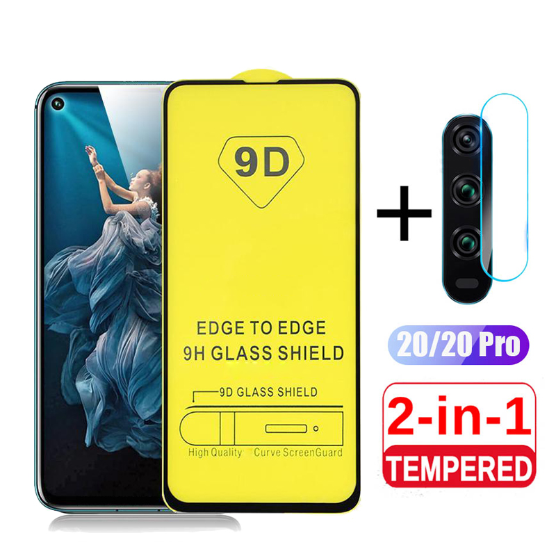 9D Tempered Glass For Huawei Honor 20 Pro Back Camera Lens Protective Glass On For Honor 20 Pro 20 Lite Light 20Pro YAL L21 Film