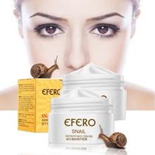 EFERO Anti Aging salyangoz özü yüz kremi beyazlatma salyangoz kremi Serum nemli besleyici kaldırma yüz cilt bakımı anti kırışıklık kremi