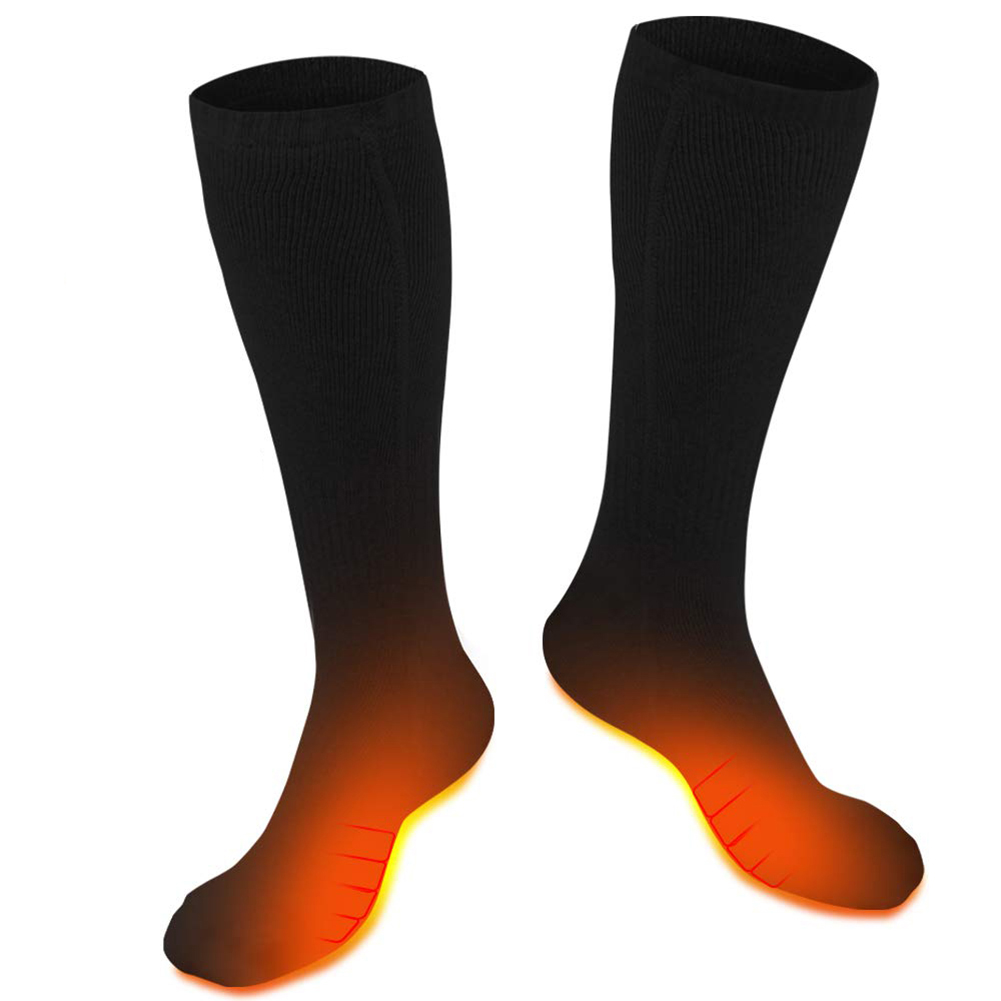 Rechargeable Electric Socks 4800mAh Large Capacity Battery Heated Socks For Men Women Hunting Fishing Camping Working Outside