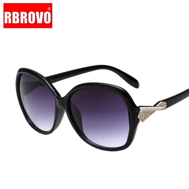 RBROVO Sunglasses Vintage Lunette-De-Soleil Classic Outdoor Femme Women Luxury Plastic