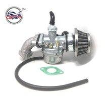 PZ19 19 Mm Hand Choke Carburateur Carb Intake Pipe Air Filter Brandstoffilter 50cc 70cc 90cc 110cc 125cc Quad Atv taotao Sunl Newoke