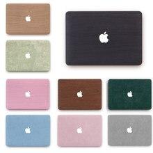 Nouveau coque en bois pour ordinateur portable pour Apple Macbook Pro Air 13 13.3 2020 2019 A2289 A2251 Pro Retina 13 15 pouces barre tactile A1707