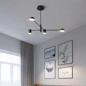 Image 4 - Ресторанные потолочные светильники, лампа для гостиной, спальни, столовой, кухни, осветительные приборы, светодиодный потолочный светильник в скандинавском стиле