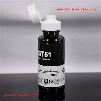 GT51 GT-51 GT-52 GT 51 52 Original Ink tank CISS dye ink Refill Kit for HP DeskJet GT-5810 GT-5820 GT 5810 5820 inkjet printers фото