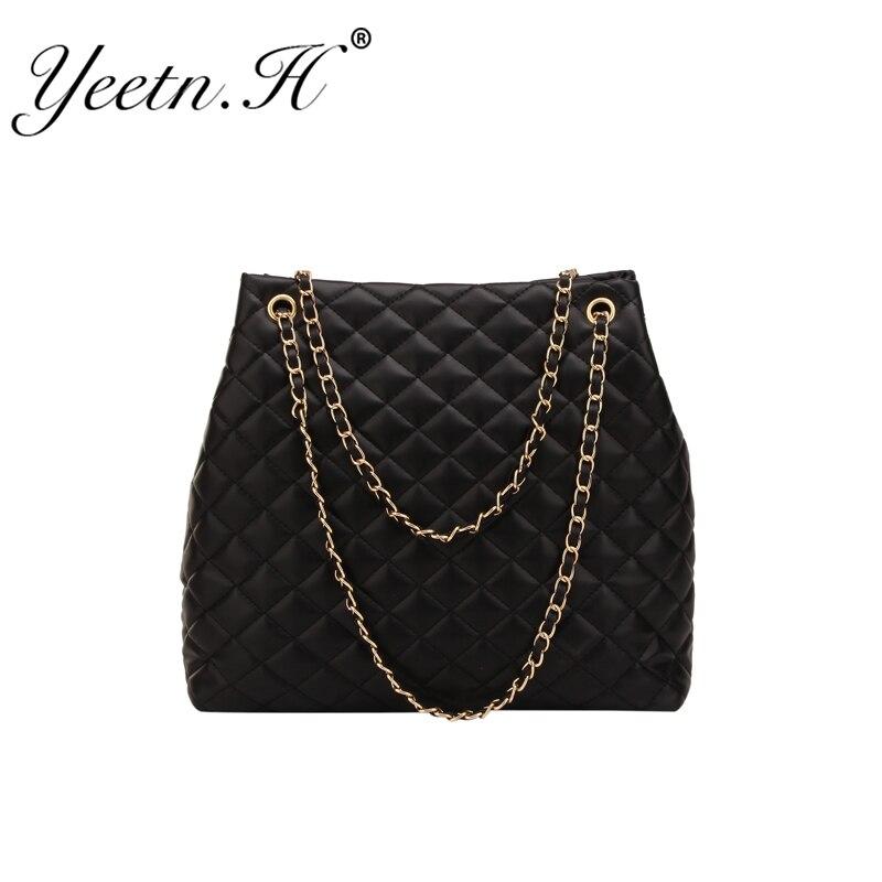 Large-capacity Bag Female 2019 Fashion Single Shoulder Diagonal Cross-grain Bucket Bags Women Ladies Luxury Handbags Tote Bag