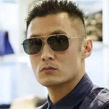 Солнцезащитные очки авиаторы мужские в стиле милитари американской
