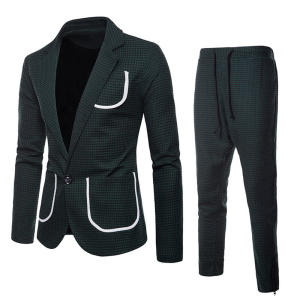 SHUJIN Male Suits Costume Blazer Formal-Dress Wedding Pants-Set Business 3pieces Man