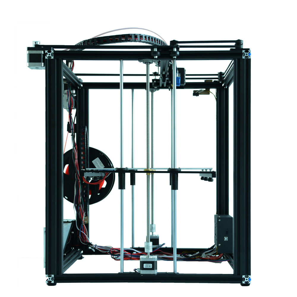 Image 4 - Auto leveling Tronxy X5SA DIY 3d Printer Full metal 3d machine 3.5 inches Touch screen Filament Sensor High Precision Machine-in 3D Printing Materials from Computer & Office