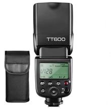Godox TT600 Camera Flash Speedlite Master Slave Off GN60 Built-in Wireless X System Transmission For Canon Nikon Pentax Fuji