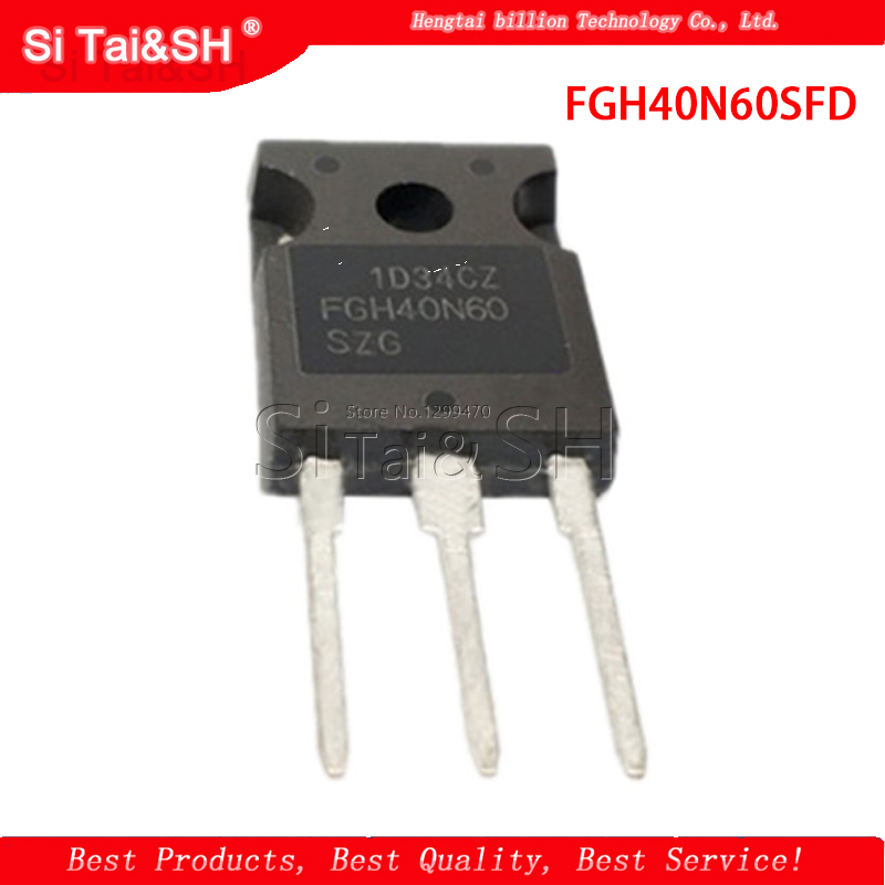 1PCS FGH40N60SFD FGH40N60 40N60 IGBT TO247 600V 40A