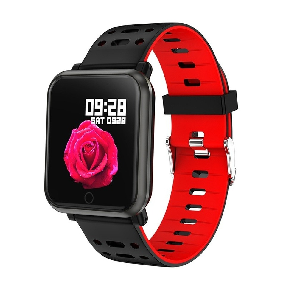 Smart Watch Fitness Tracker Waterproof Women Sport Smartwatch Clock Heart Rate Blood Pressure Men Watch for Ios Android in Smart Wristbands from Consumer Electronics