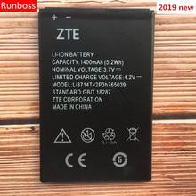 New High Quality 1400mAh Li3714T42P3h765039 For ZTE Blade Q3 T230 AF3 T220 A3 T221 A5 AF5 A5 Pro Mobile Phone Battery