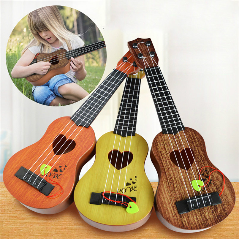 Mini Beginner Classical Safe Simple Instrument Gift Kids Musical Strings Educational Concert Ukulele Christmas 4 For Toy Guitar