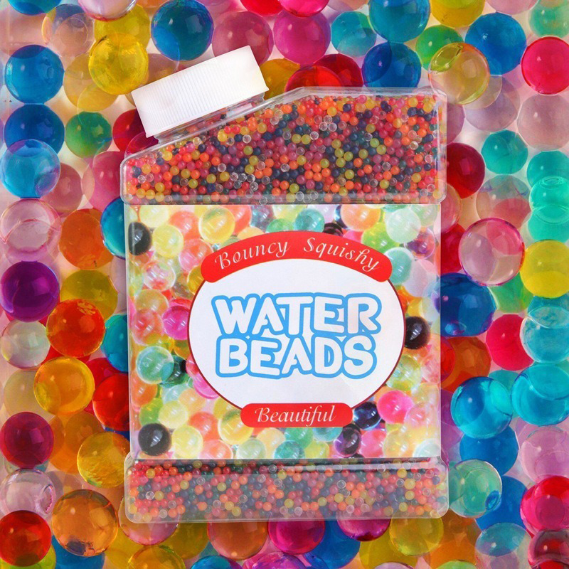 Crystal Soft Water Ball Jelly Water-absorbing Hydrogel Bead Gel For Plants Orbeez Balls Of Orbits That Grow In Water For Flowers