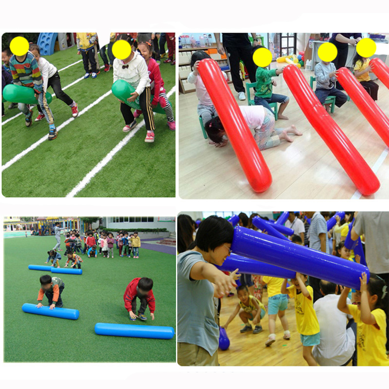 1pcs Kids Outdoor Exercise Sense Training Equipment Air Inflatable Stick Educational Sports Toys For Kindergarten Free Shipping