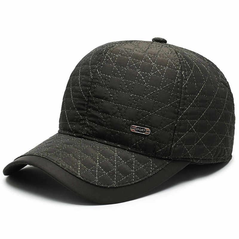 Último modelo de otoño invierno algodón cálido Unisex nuevo orejeras sombrero visores ajustables hombres al aire libre Casual Snapback gorras visera sombrero