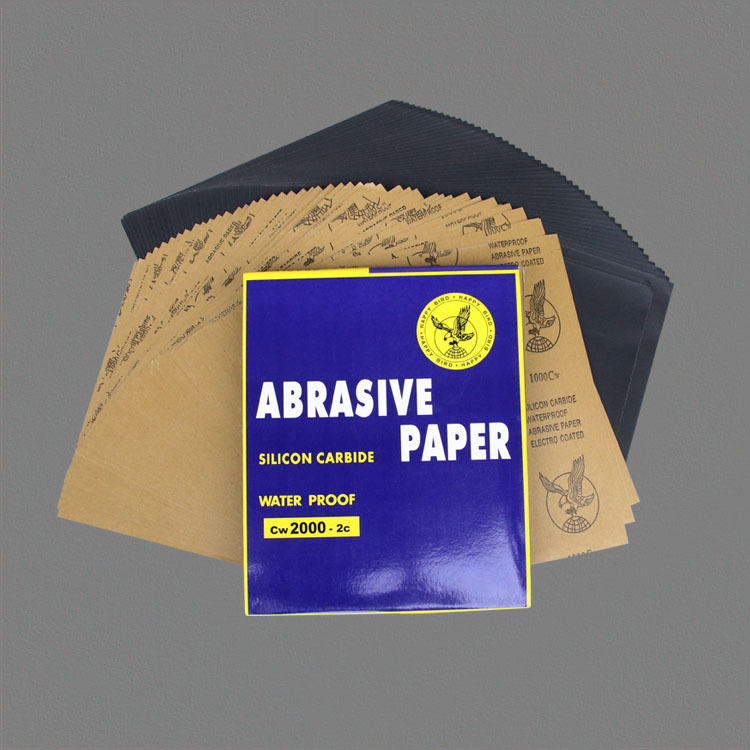 Genuine Product Eagle Sandpaper Polishing Woodworking Metal Polishing Mill SNAD Paper Disk Alumina Grind  Dry Sandpaper Grinding